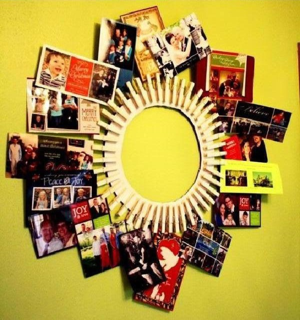 DIY Clothespin Picture Frame 6