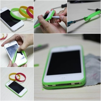 DIY Simple Smartphone Bumper Case