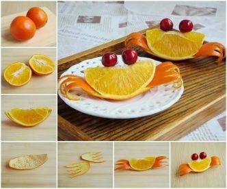 DIY Adorable Orange Crab