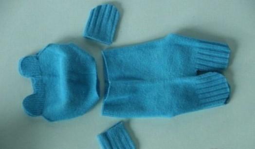 DIY Adorable Sock Teddy Bear 4