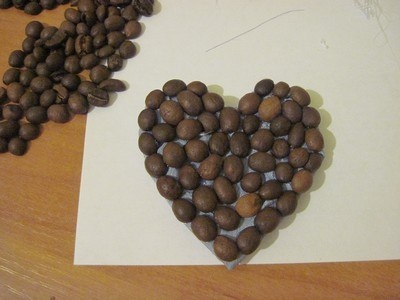 DIY Coffee Bean Fridge Magnet 5