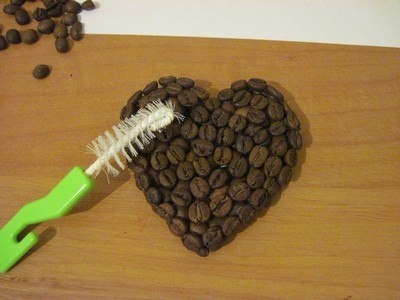 DIY Coffee Bean Fridge Magnet 7