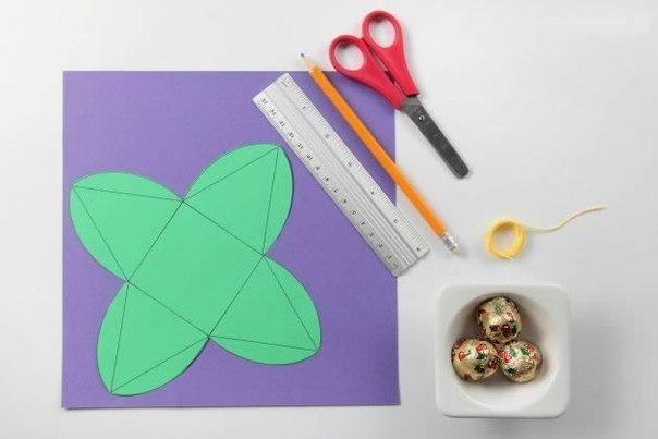 DIY Cute Simple Pyramid Gift Box 2