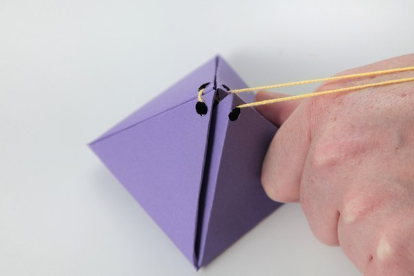DIY Cute Simple Pyramid Gift Box 9