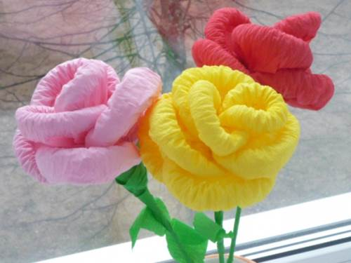 DIY Easy Napkin Paper Flowers 11