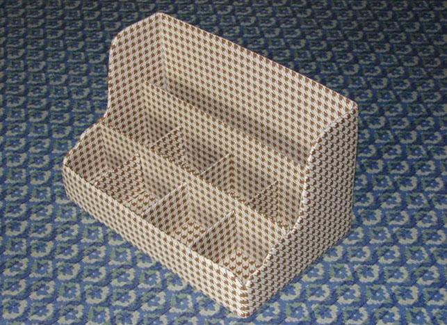 DIY Nice Cardboard Desktop Organizer 10