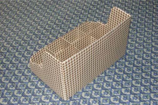 DIY Nice Cardboard Desktop Organizer 8