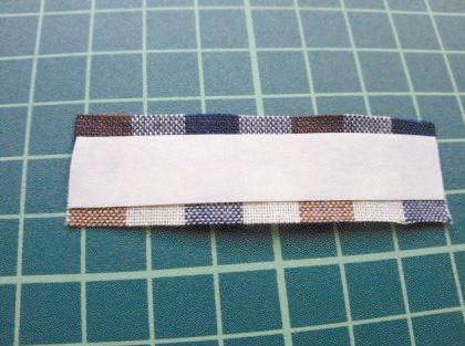DIY Pretty Plaid Bow Hair Clip 8