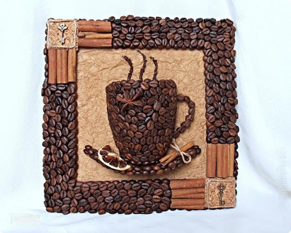 DIY 3D Coffee Cup Wall Decor 12