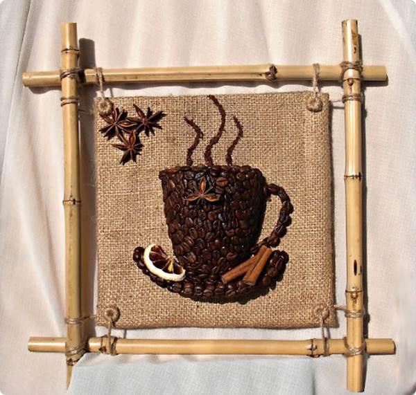 DIY 3D Coffee Cup Wall Decor 14