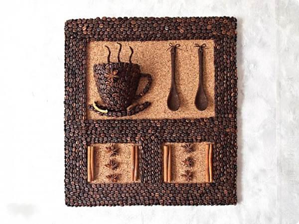 DIY 3D Coffee Cup Wall Decor 15