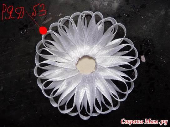 Diy Beautiful Narrow Satin Ribbon Flower Good Home Diy