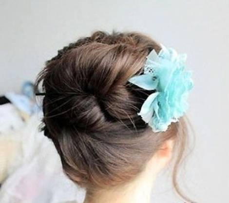 DIY Easy Updo Hairstyle with a Chopstick 9