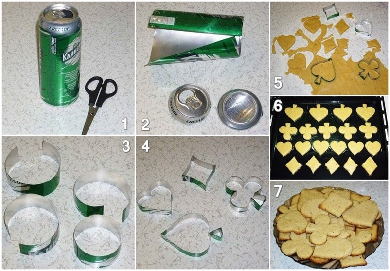 DIY Personalized Cookie Cutters from Soda Cans