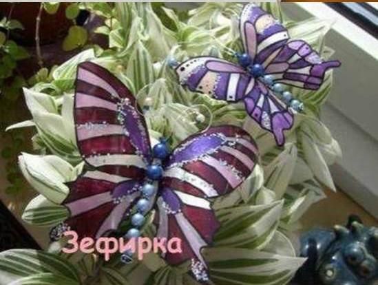 DIY Pretty Butterflies from Plastic Bottles 9