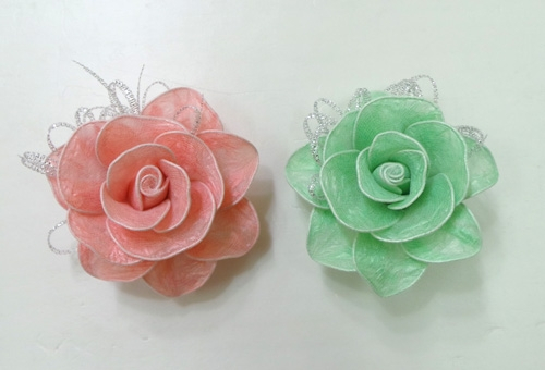 DIY Pretty Roses from Plastic Bags 1