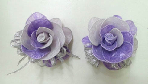 DIY Pretty Roses from Plastic Bags 11