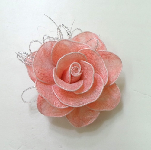 DIY Pretty Roses from Plastic Bags 8