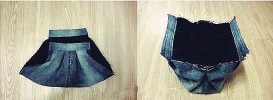 DIY Stylish Handbag from Old Jeans 34