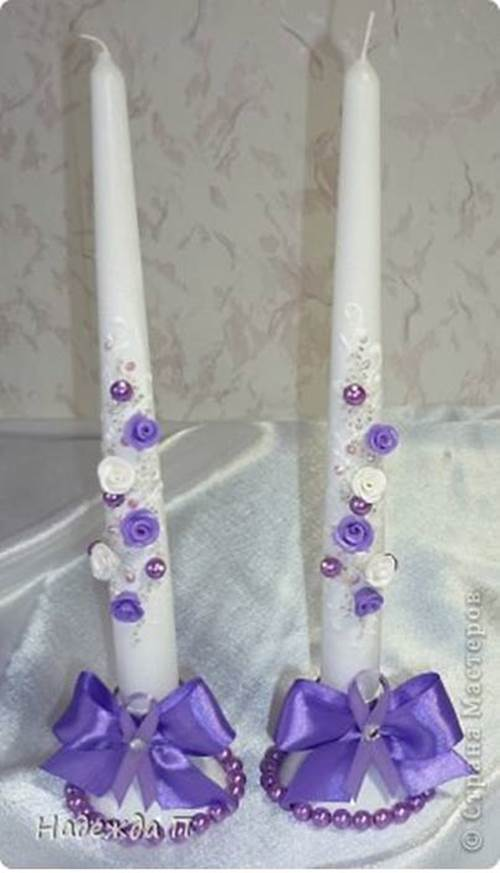 DIY Pretty Candle Holder from Recycled Plastic Bottle 7